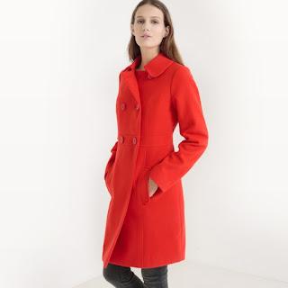 cappotto rosso scontato