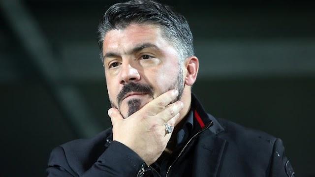 O pesado fardo do momento milanista: a culpa não é do Gattuso