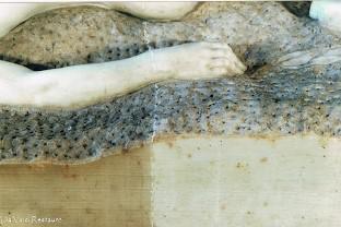 limpieza escultura en marmol