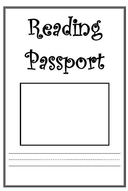 Classroom Passport Template mannatech to 2010 for kids student – Free Passport Template for Kids