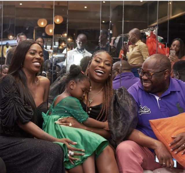 See Lovely Photos of Tiwa Savage and Sophia Momodu on Mother's Day
