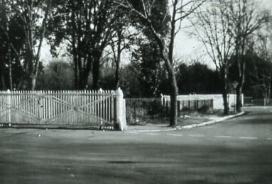 Crossing gates in Spring Garden Lane 1970