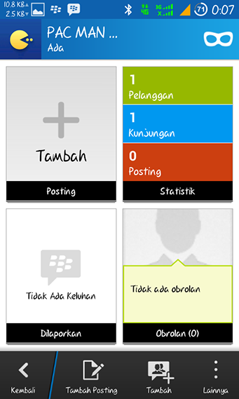 Lobby Channel BBM Android