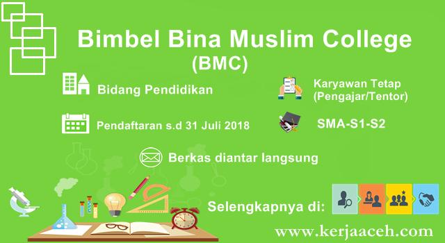 Lowongan Kerja Aceh terbaru 2018 Karyawan tetap Gaji  3 juta perbulan di Banda Aceh
