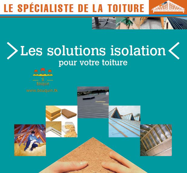 Le spécialiste de la toiture - Bouquin