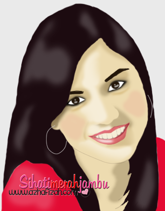 Vector Potrait Lisa Surihani