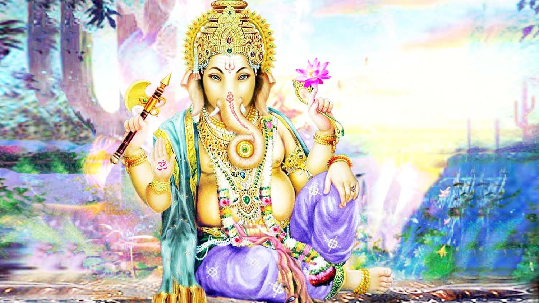 Beautiful Ganpati Image in hd!