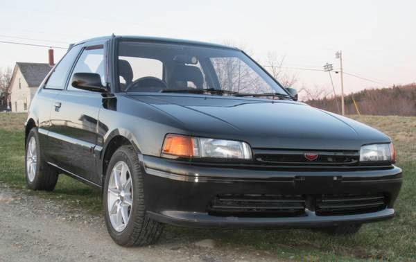 Daily Turismo 10k Familia But Different 1991 Mazda Familia 323 Gtx