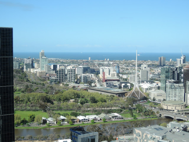 view of melbourne from no 35