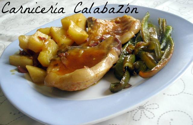 Carnicería Calabazón: CHULETAS DE CERDO A LA CERVEZA