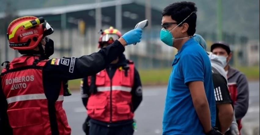 CORONAVIRUS: Más del 40% de los infectados en Guayaquil y Quito incumplieron el aislamiento, informó el presidente de Ecuador
