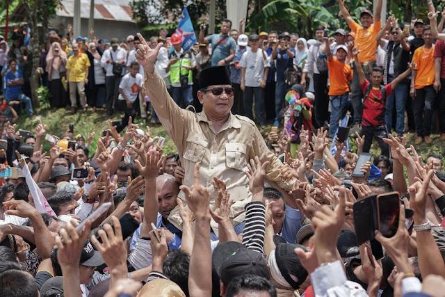 BPN Prabowo-Sandi: Insya Allah Jateng dan Jatim Menang 53%, Jabar 80%