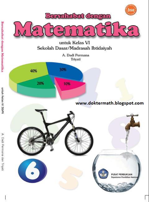 Buku Paket Matematika SD Kelas 6 | dokter matematika