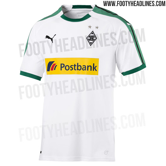 OFFICIAL Pictures: Borussia Mönchengladbach 18 19 Home Kit