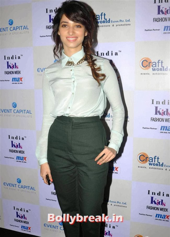 Tamanna Bhatia, Celebs at India Kids Fashion Week 2014