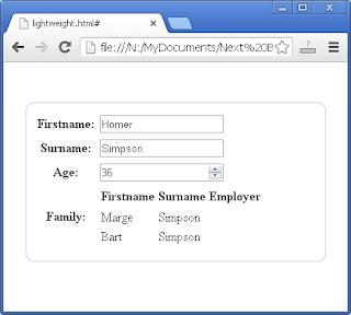 JSON UI Generator: Array Support
