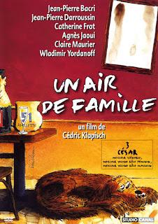 Affiche d'Un Air de famille, de Cédric Klapisch (1996)