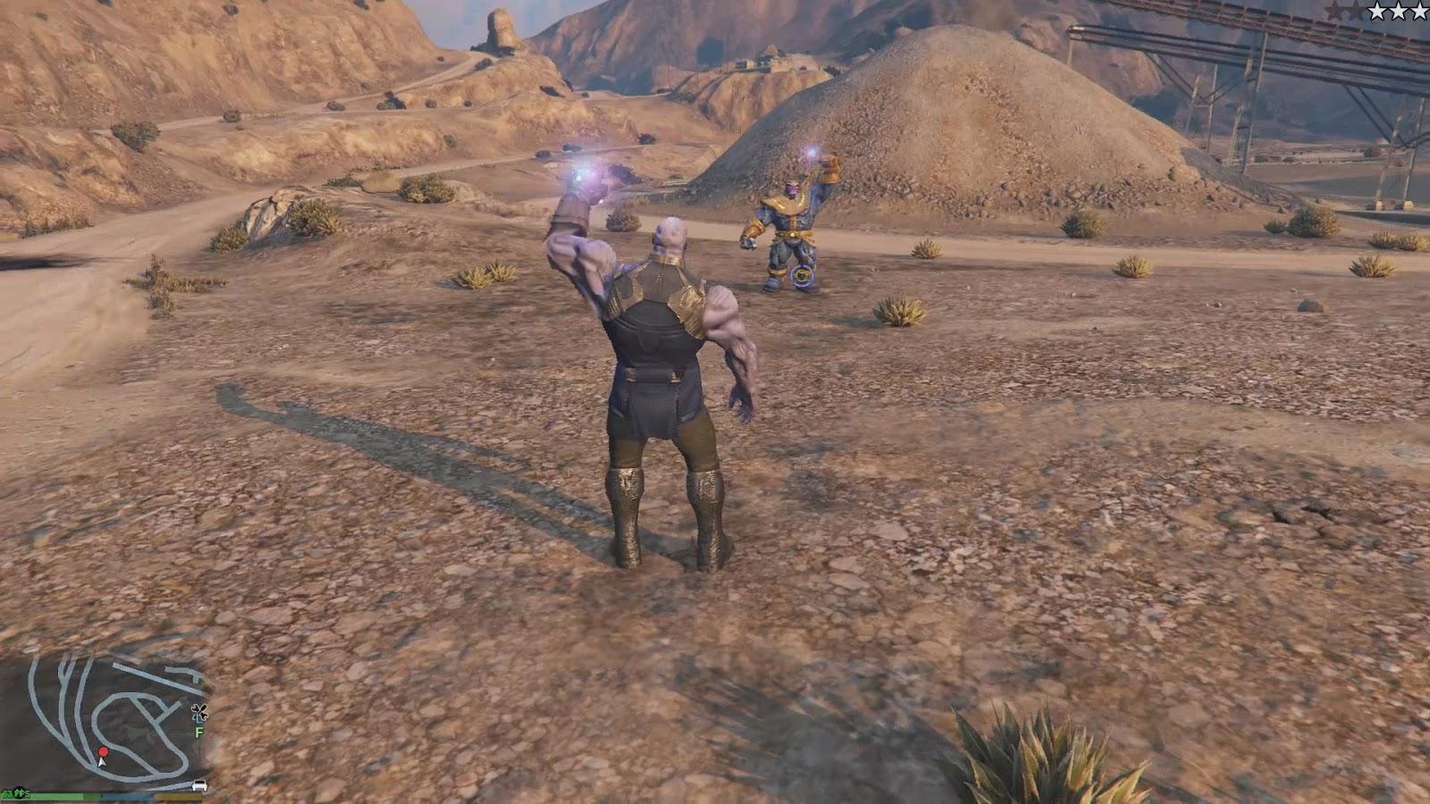 Download GTA V Thanos Mod