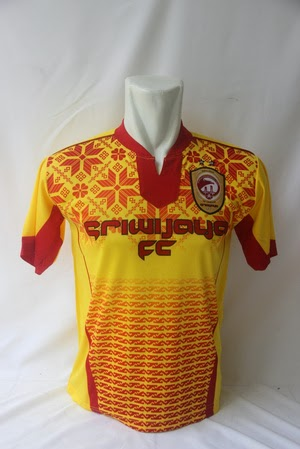 gambar jersey sriwijaya home terbaru musim depan 2015/2016 kualitas grade ori made in thailand