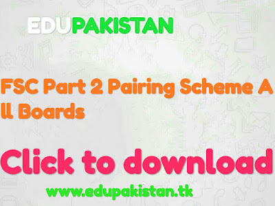This is FSC Part 2 Pairing Scheme All Boards