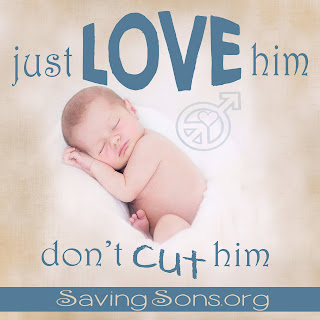 Please just LOVE him, don't cut him. Information about circumcision to share with over 10 links to help you research your decision.