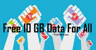 Free Jio 4G Data Trick