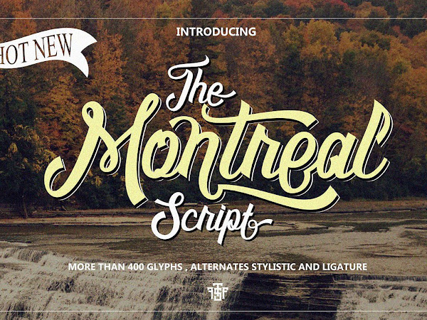 The Montreal Classic Script Font Free Download