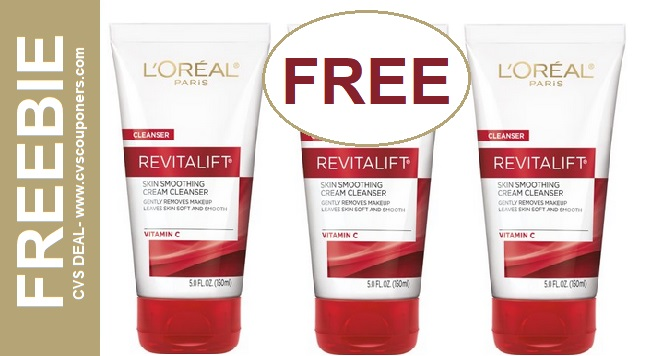 FREE L'Oreal Facial Cleanser CVS Deal 5-12-5-18
