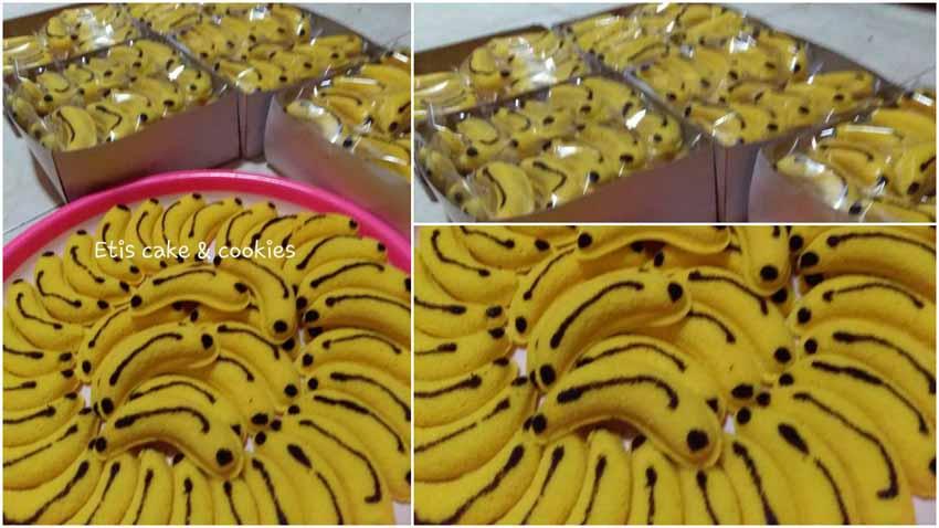 Resep Banana Cotton Cake Ekonomis