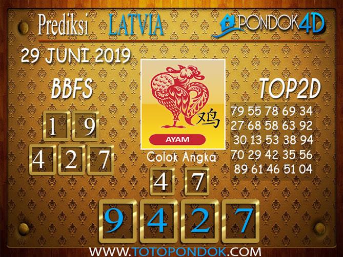 Prediksi Togel LATVIA PONDOK4D 29  JUNI 2019