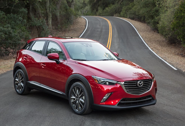 2016 Mazda CX-3 red