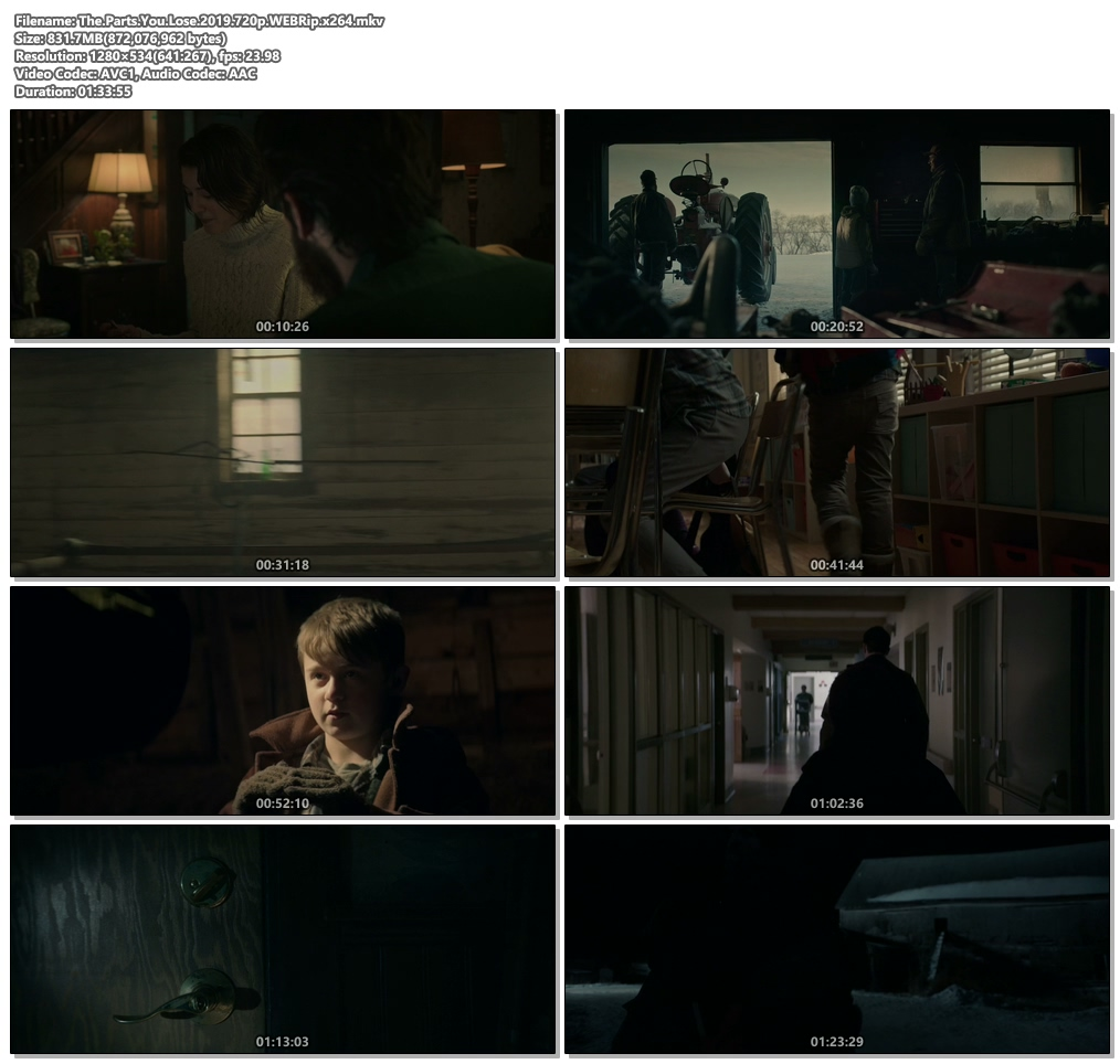 The Parts You Lose 2019 720p WEBRip x264 | 480p 300MB | 100MB HEVC Screenshot