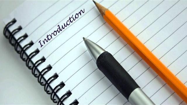 مقدمة بحث علمي، مقدمات لأي بحث