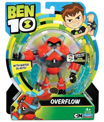 BEN 10 - Overflow : Figura de acción | Muñeco | Serie Televisión Boing - Videojuegos 2017 | COMPRAR JUGUETE - TOYS - JOGUINES  caja