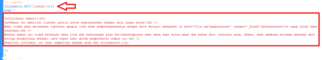 script Kamus Indonesia – Batak Versi 1 menggunakan php mysql database 2