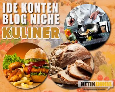 Hasil gambar untuk gambar blog kuliner