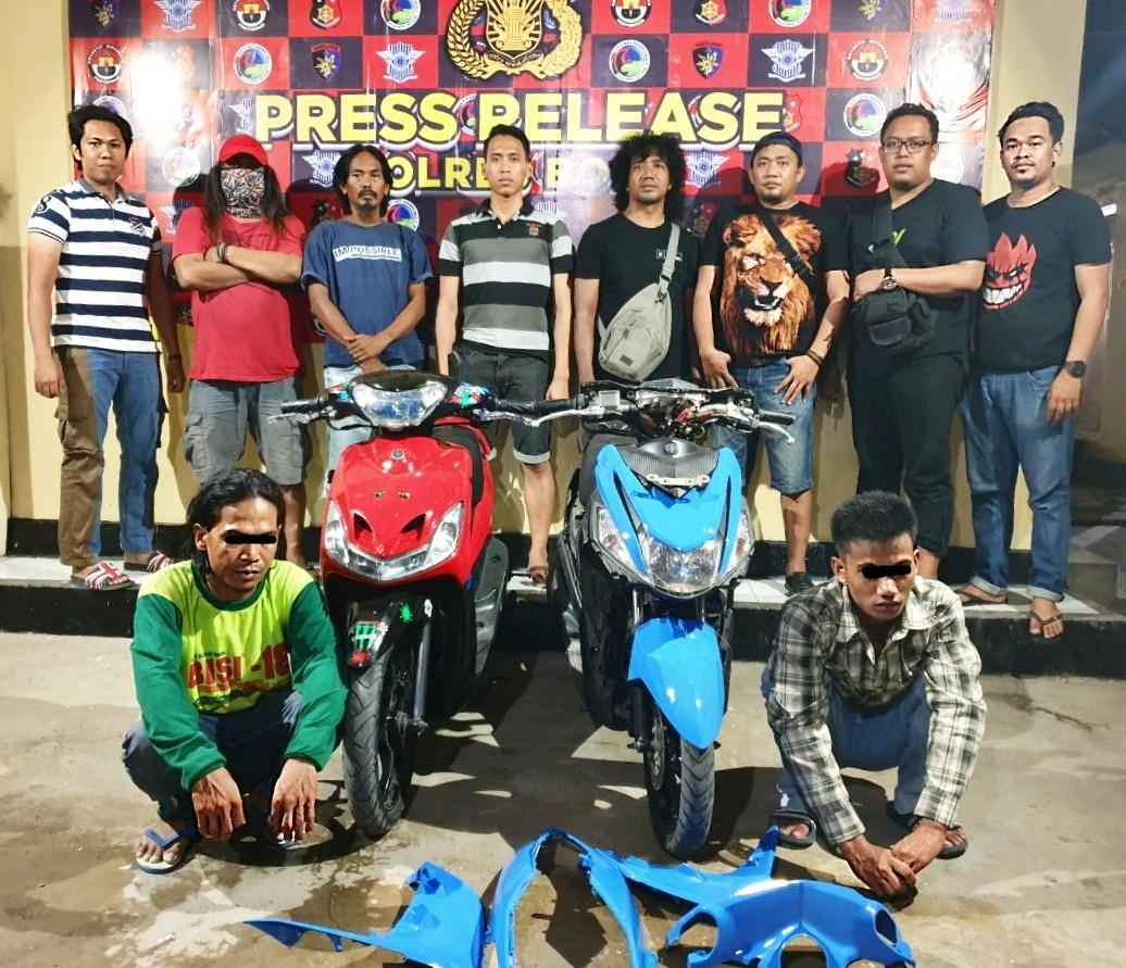 Resmob Polres Bone Berhasil Ungkap dan Amankan Pelaku Tindak Pidana Pencurian Motor
