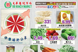 Weekly Ad for 99 Ranch Market, valid August 29 - September 5, 2018