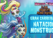 Natacion Monstruosa Monster High juego