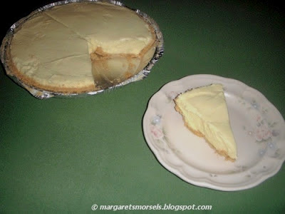 Margaret's Morsels | Lemonade Pie
