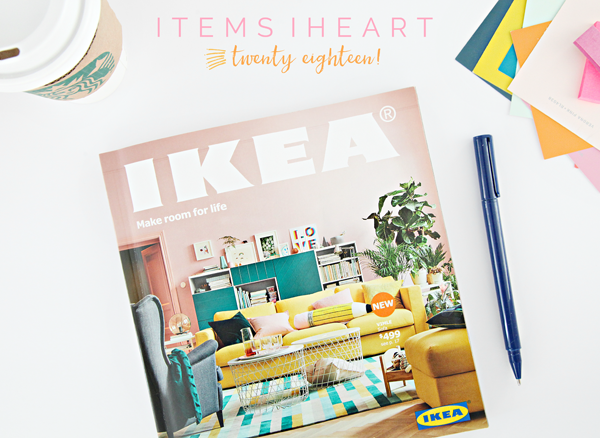 starting the first week in August with great anticipation of the  colorful and idea filled pages  The annual IKEA catalog is a reliable page  turner. IHeart Organizing  The 2018 IKEA Catalog  Items iHeart