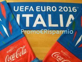 Logo In consegna le sciarpe personalizzate Coca-Cola