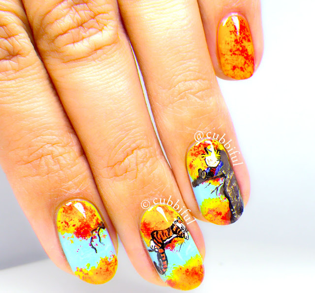 calvin and hobbes nails