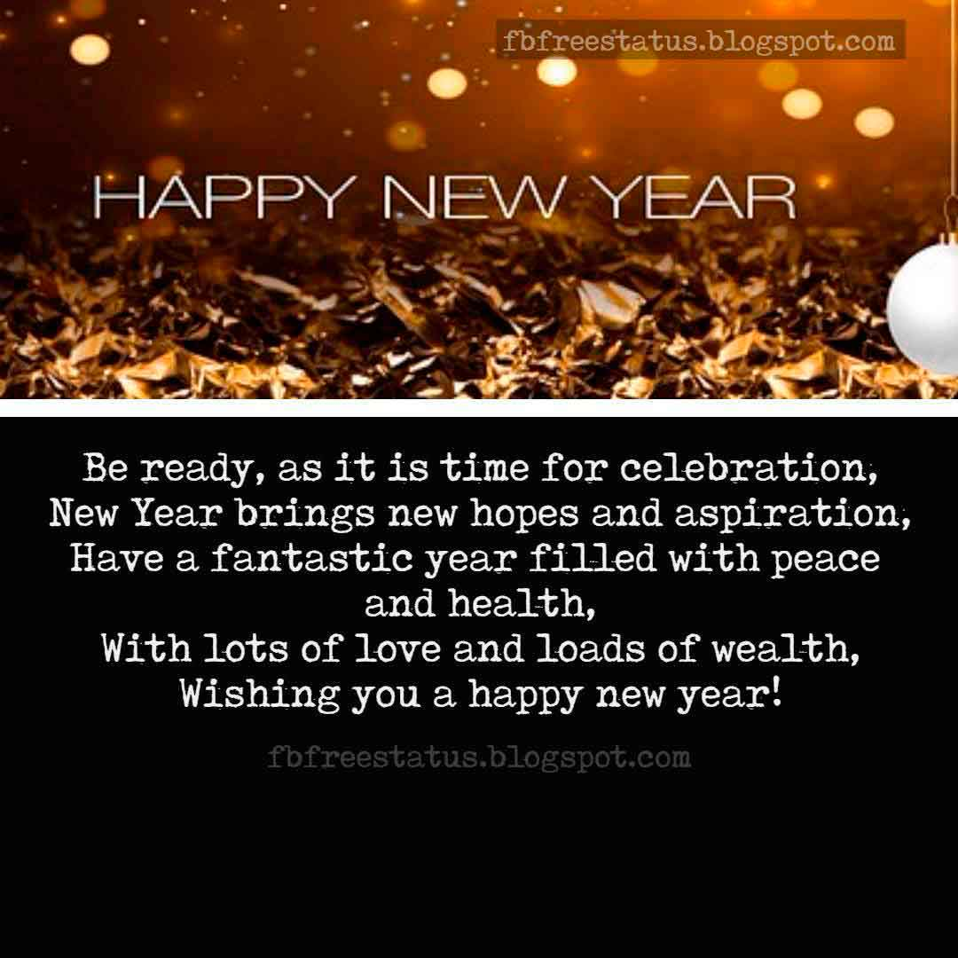 Best new year wishes message