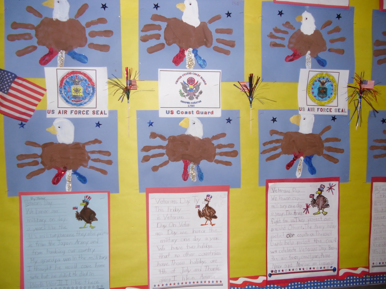 Patties Classroom Veterans Day Activities