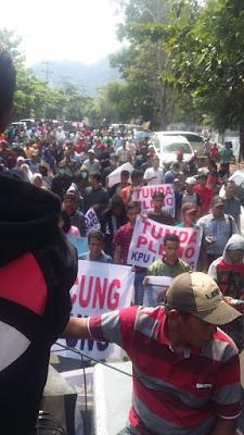 Rakyat Lampung Bergerak Minta Usut Tuntas Aktor Politik Uang