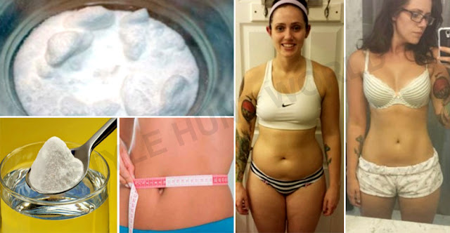 This Woman Remove The Belly Fat With Natural Ingredients, See How!