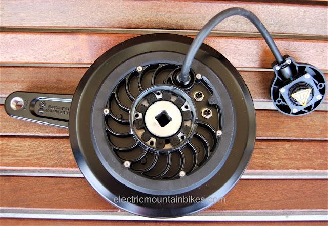 pendix edrive ebike motor cooling fins