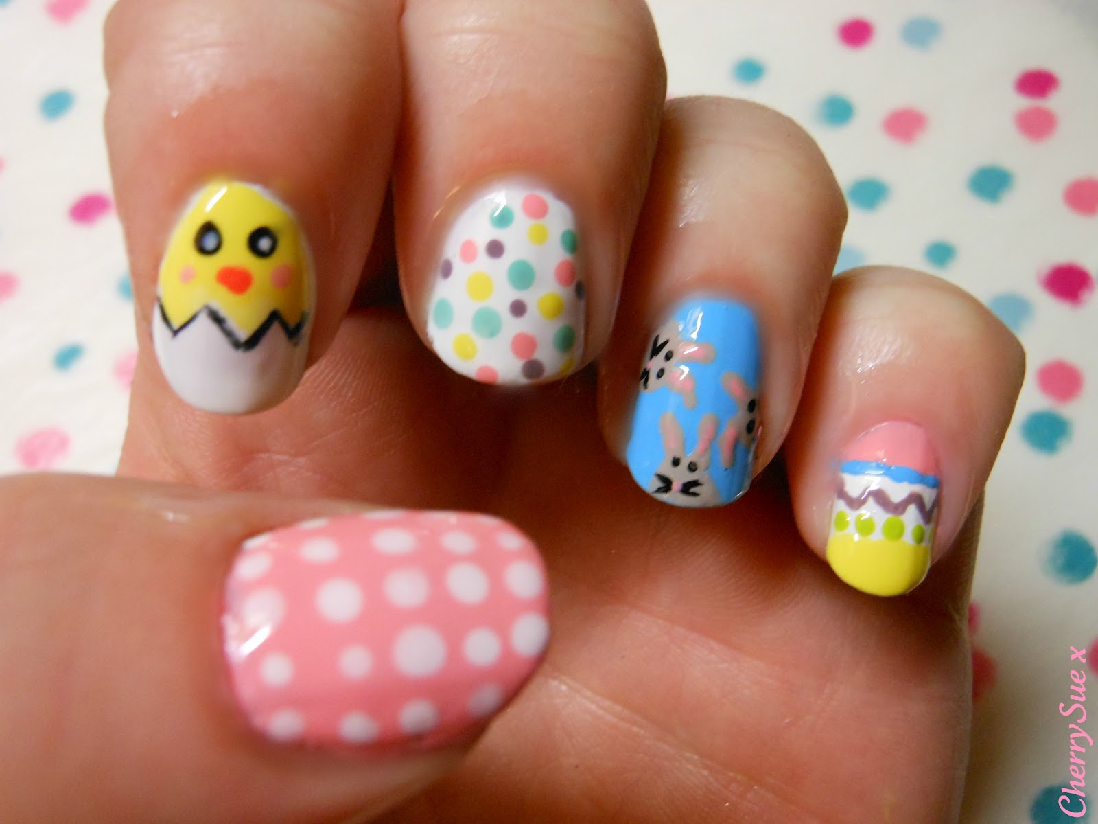 Easter Nail Designs - Pccala