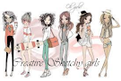 Creative Sketch Girls